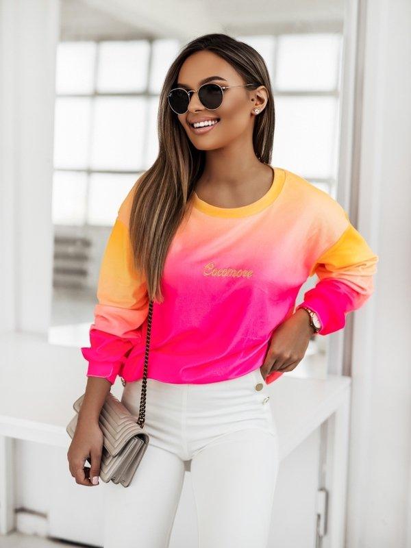 Bluza Cleo Colour Pomarańczowa