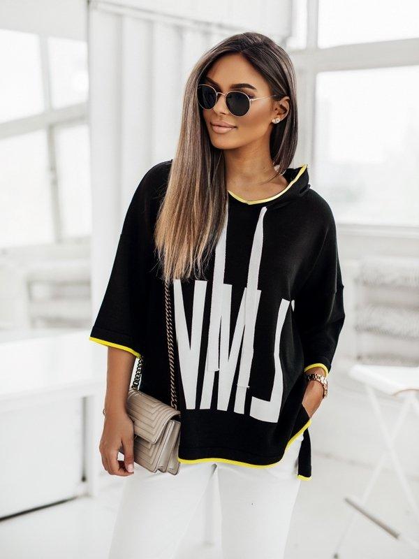 Sweter NML Yellow Czarny