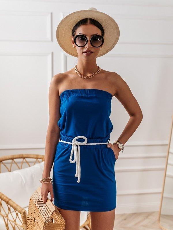 Sukienka Malia Niebieska