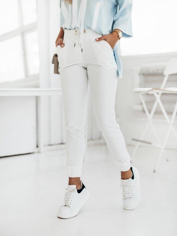 Spodnie Safio Białe