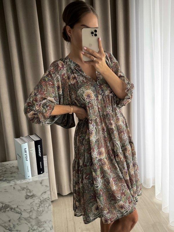 Sukienka Semilla Miętowa