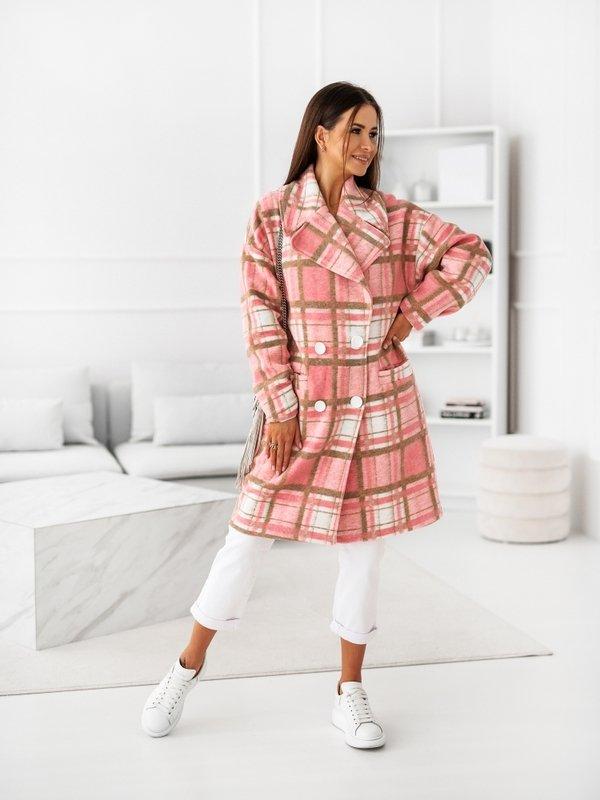 Płaszcz Royal Różowy
