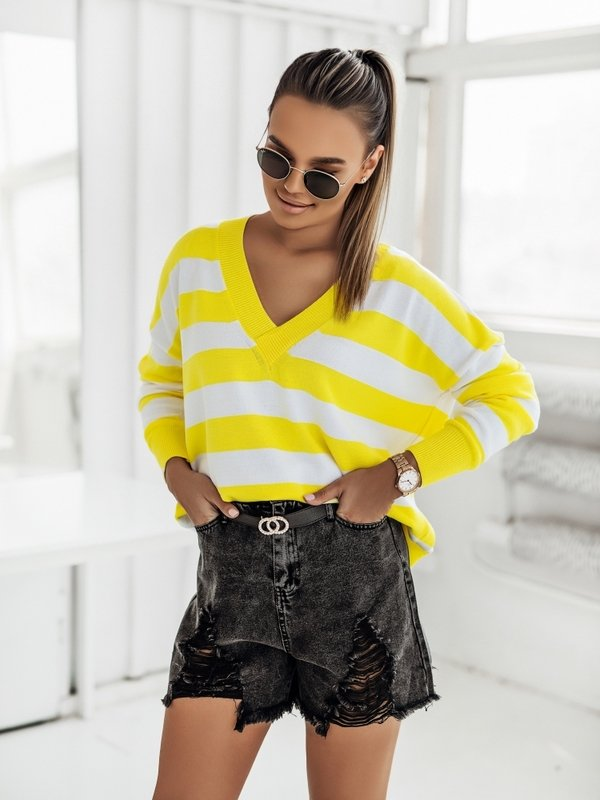 Sweter Adele Żółty