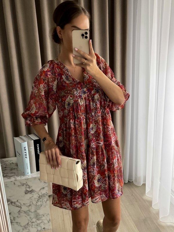 Sukienka Semilla Czerwona