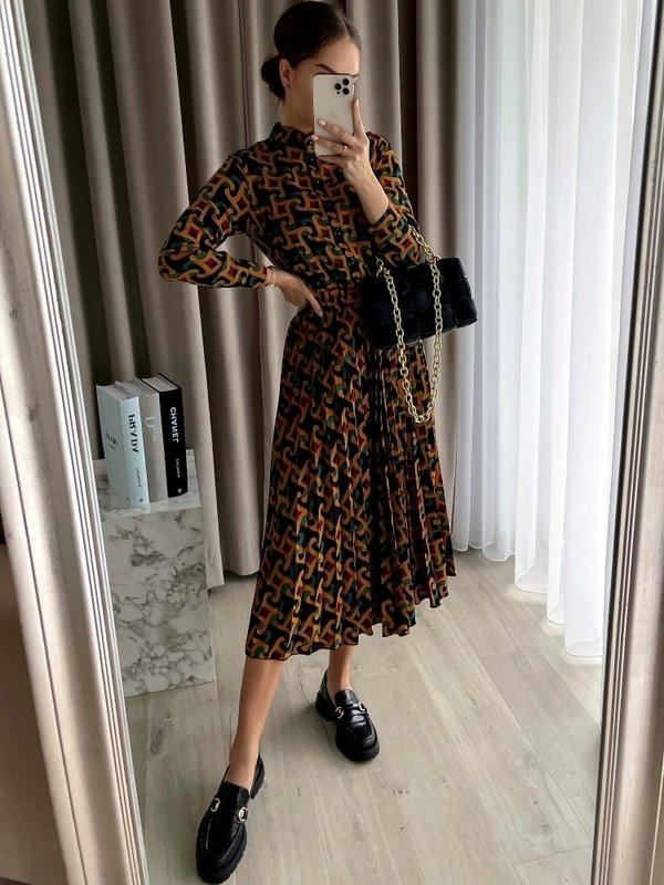 Sukienka Mahony New Pomarańczowa