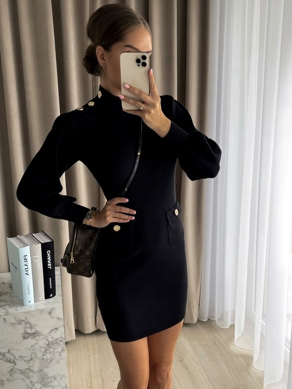 Sukienka Moby Czarna