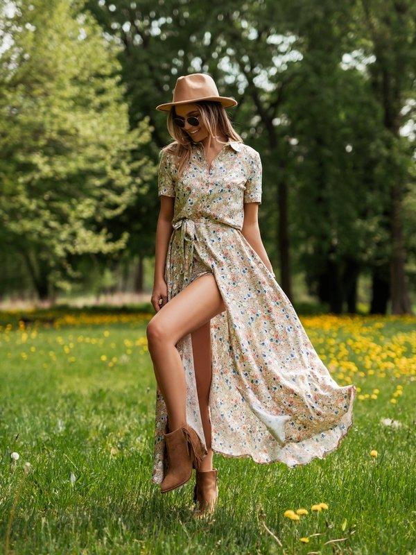 Sukienka Saint Zielona