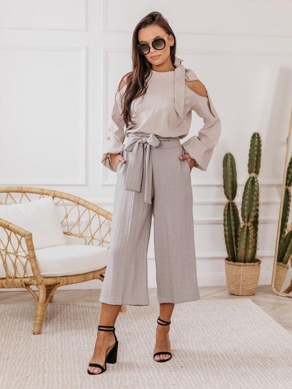 Spodnie Maroko Szare