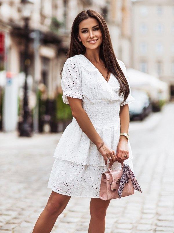 Sukienka Desire Kremowa