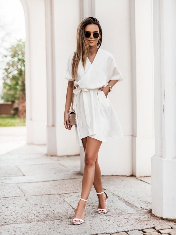 Sukienka Gini Biała