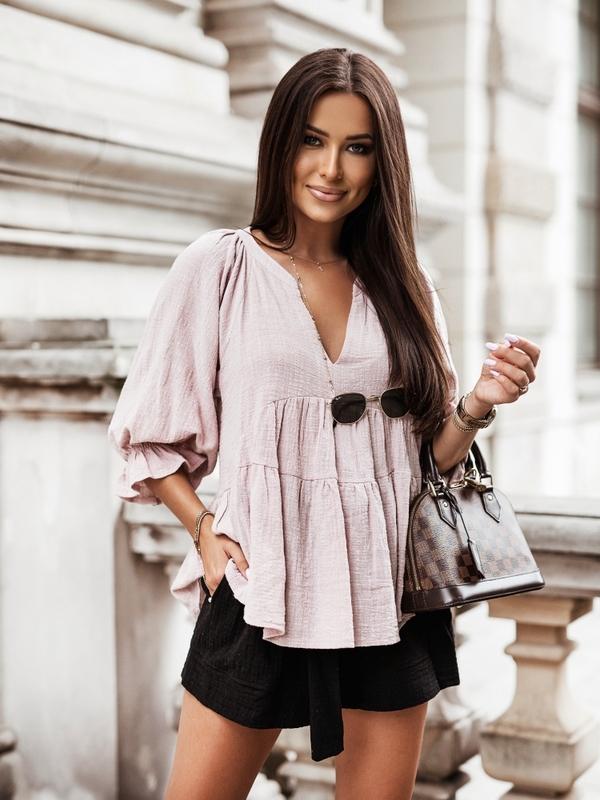 Koszula Tiria Pudrowa