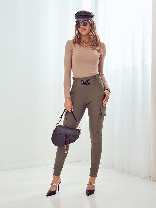 Spodnie Leah Khaki