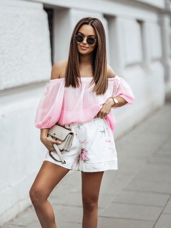 Bluzka Tucan Różowa