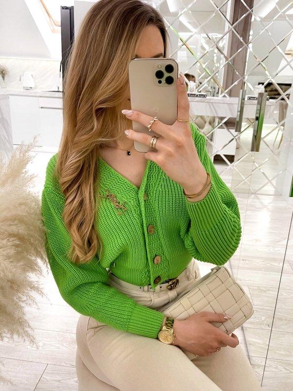 Sweter Noela Zielony