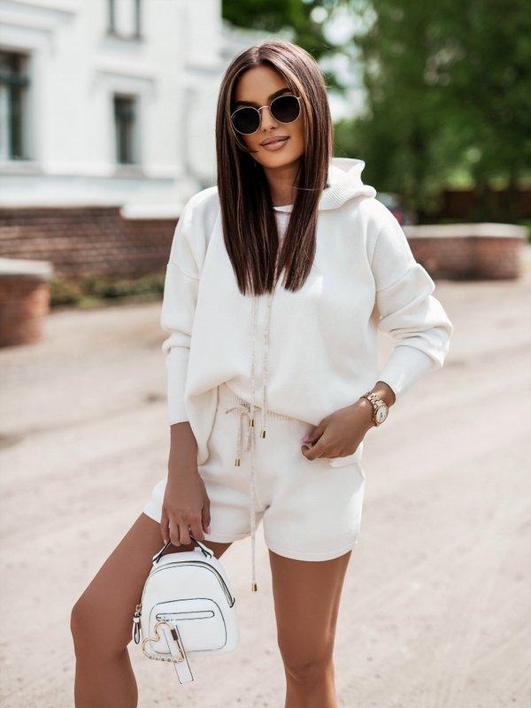 Sweter Rose Biały
