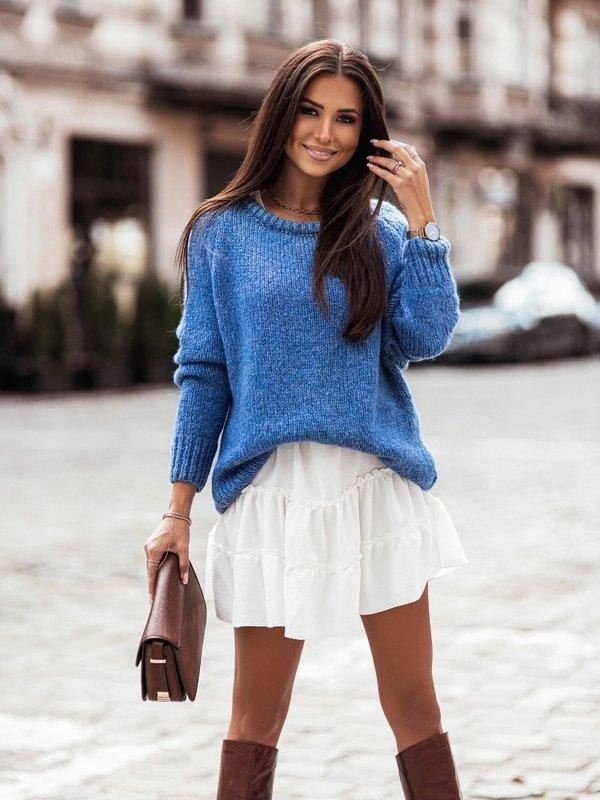 Sweter Dakota Niebieski