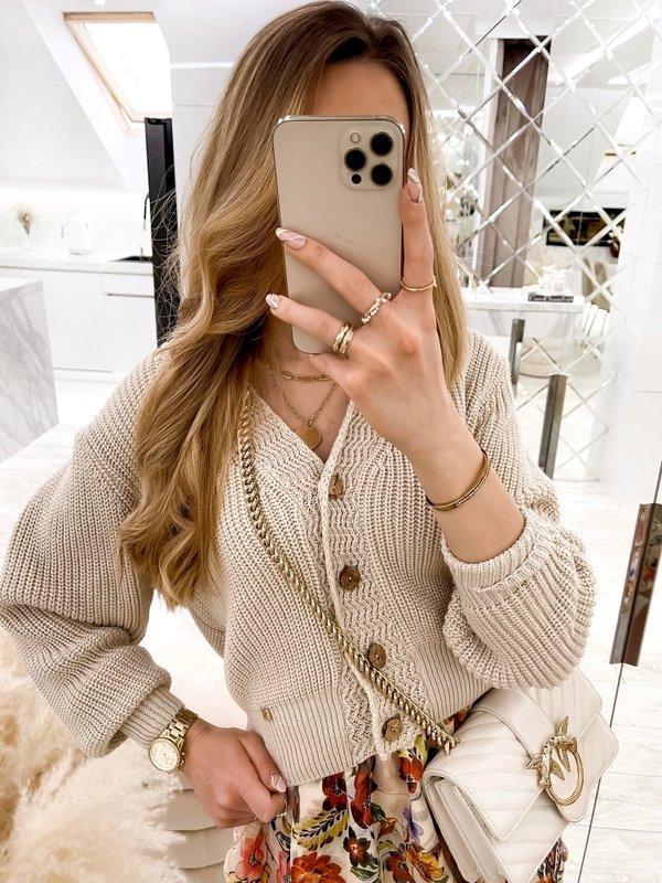 Sweter Noela Beżowy