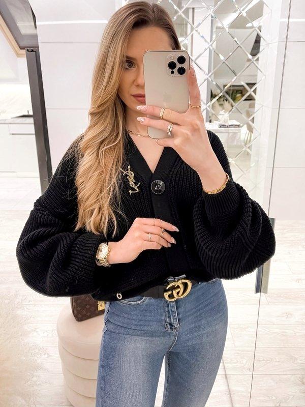 Sweter Vanessa Czarny