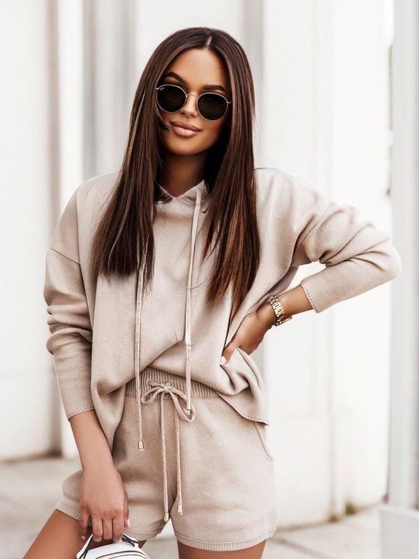 Sweter Rose Karmelowy