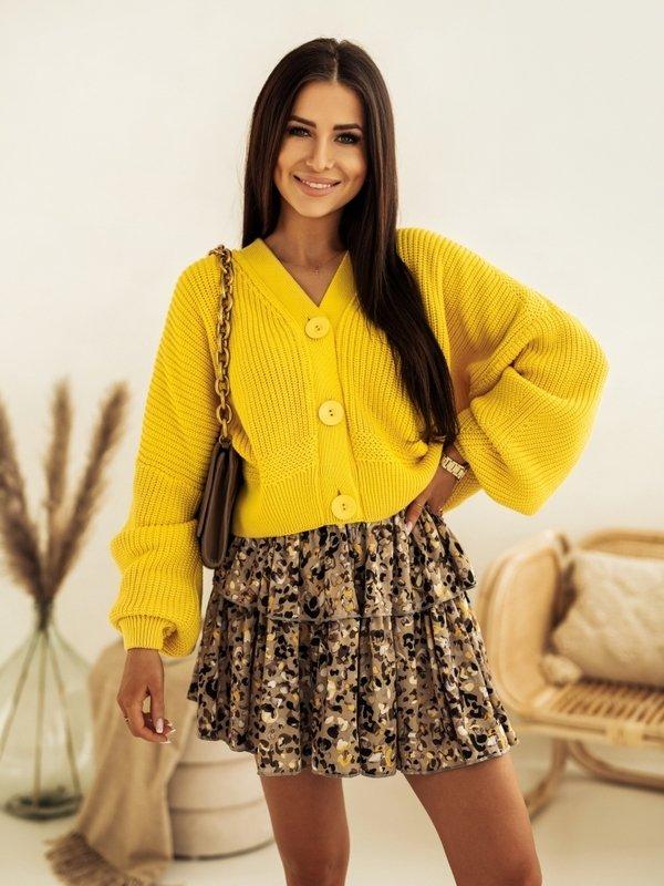Sweter Vanessa Żółty