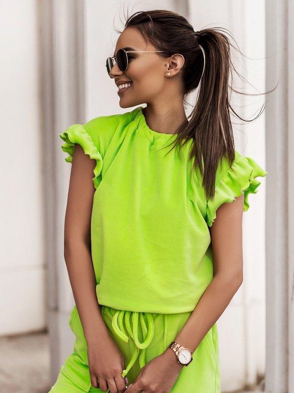 Bluzka Yolande Zielona