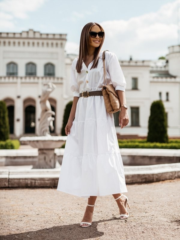 Sukienka Malena Biała