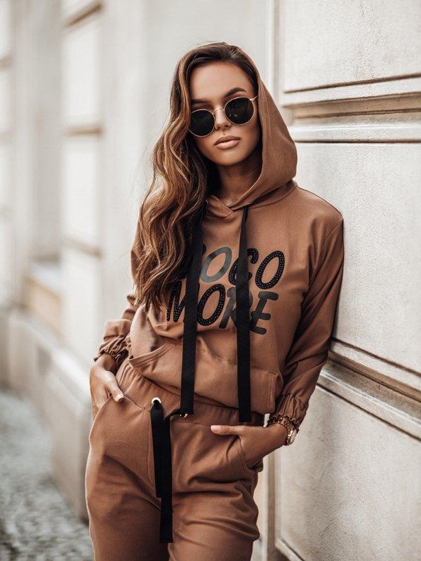 Bluza Cocomore Blink Karmelowa