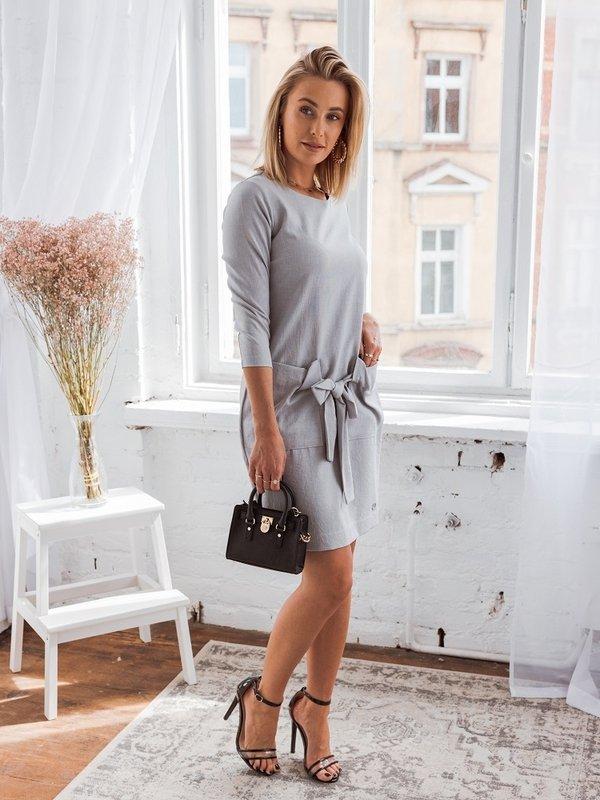 Sukienka Lila Szara