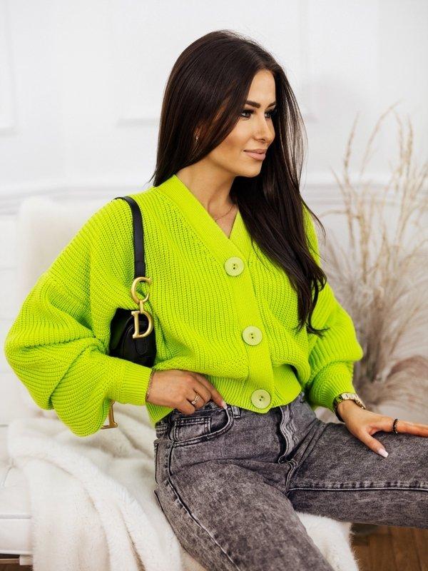 Sweter Vanessa Limonkowy