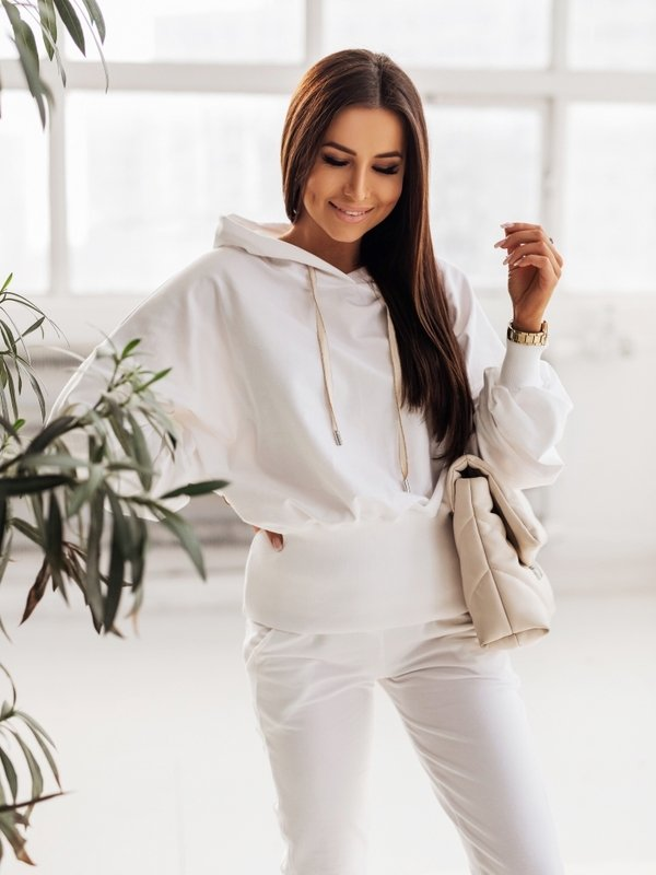 Bluza Isac Biała