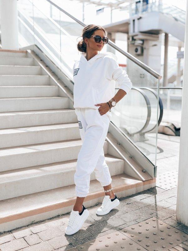 Spodnie Coco Label Białe