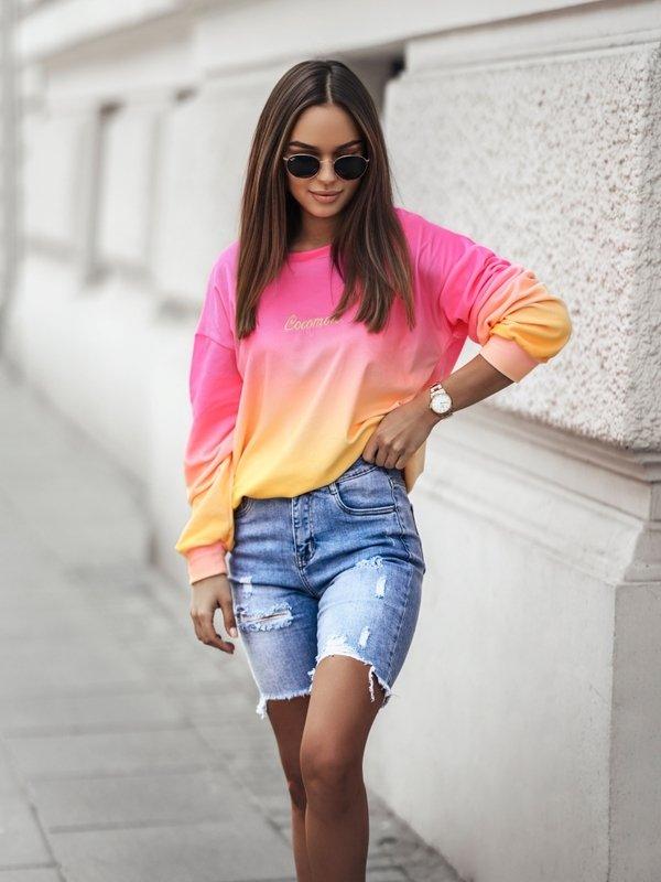 Bluza Cleo Colour Różowa