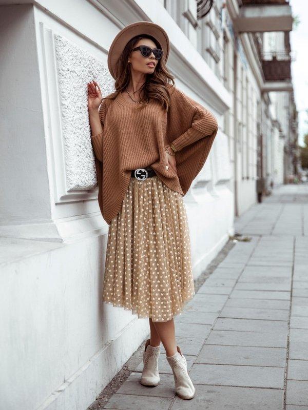 Spódnica Star Glam Beżowa