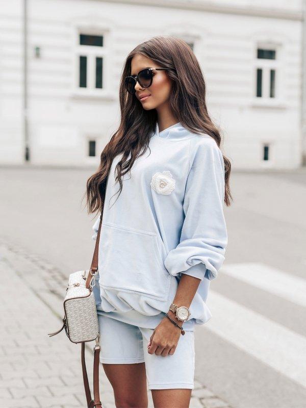 Bluza Grace Błękitna