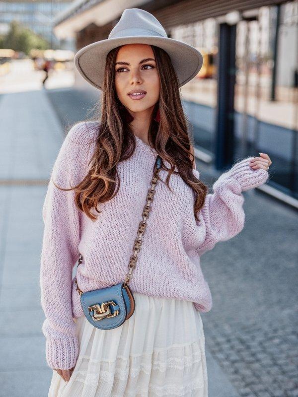 Sweter Dakota Pudrowy