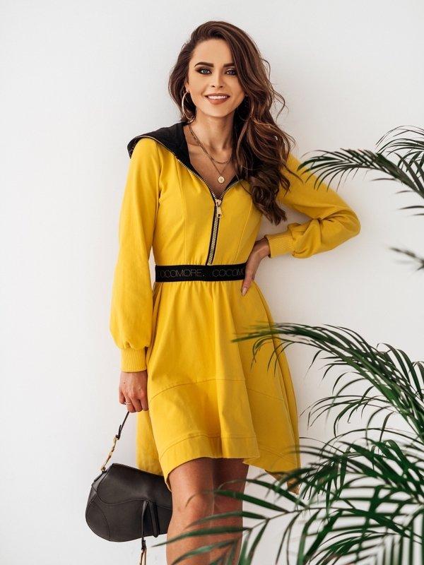 Sukienka Xenia Żółta