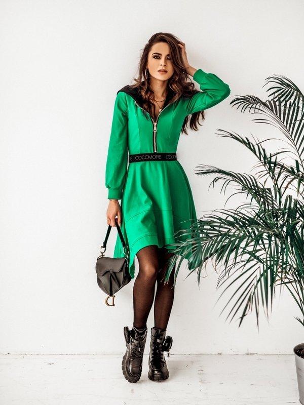 Sukienka Xenia Zielona
