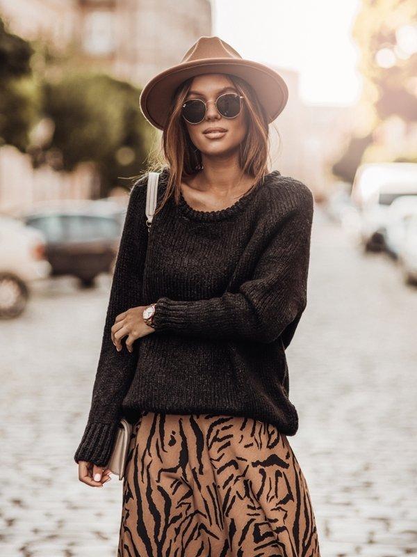 Sweter Dakota Czarny