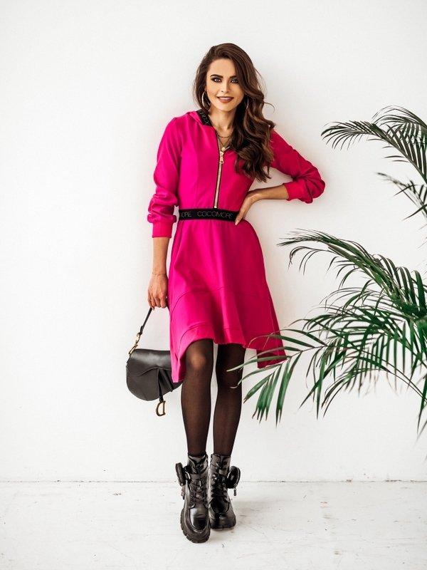 Sukienka Xenia Amarantowa
