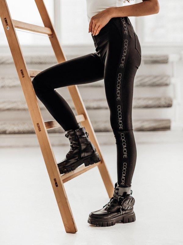 Spodnie Logo Master Czarne