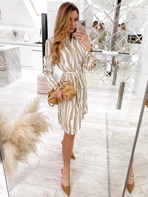 Sukienka Altra Beżowa