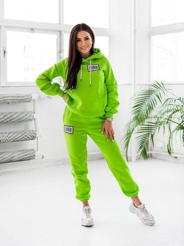 Spodnie Coco Label Zielone