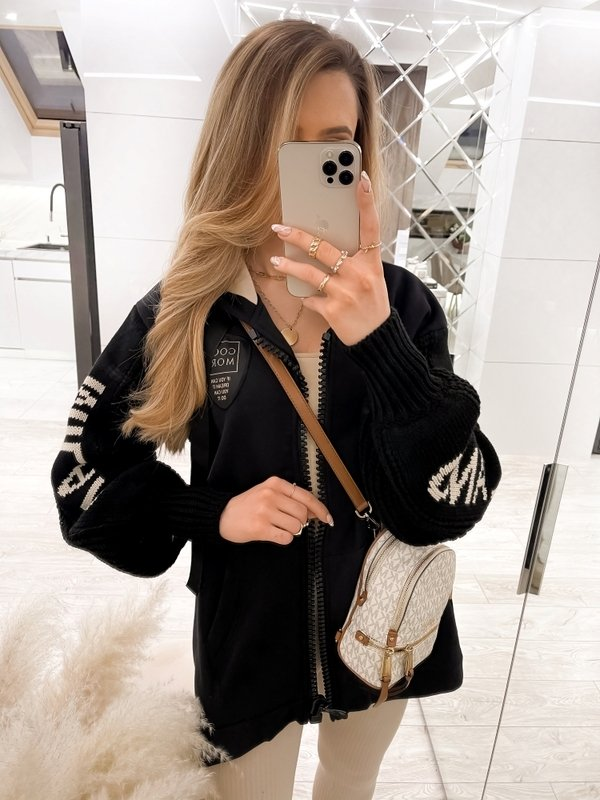 Kurtka Milano Sweater Czarna