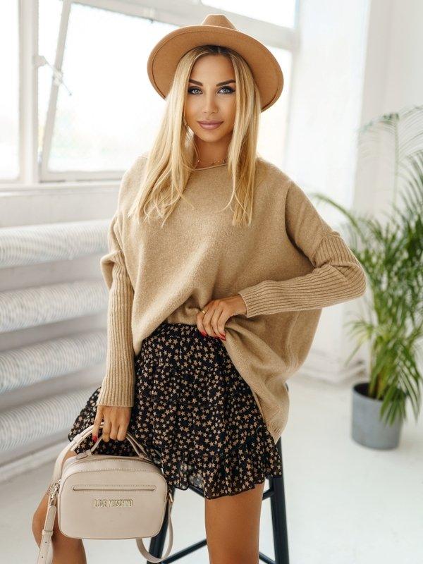 Sweter Melia Karmelowy