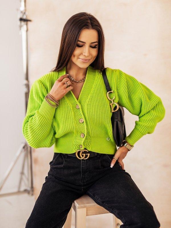 Sweter Noela Limonkowy