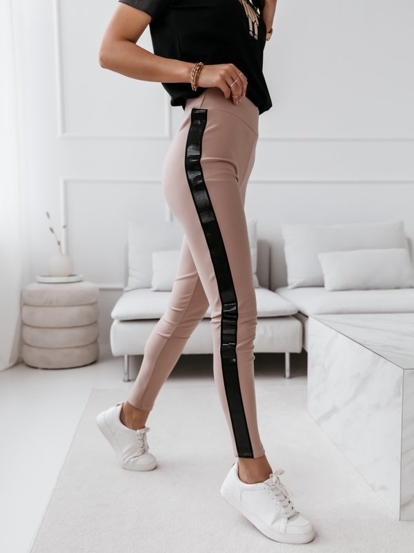 Spodnie Blink Glass Pudrowe