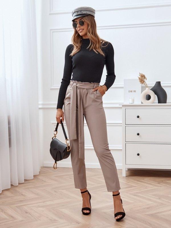 Spodnie League Latte