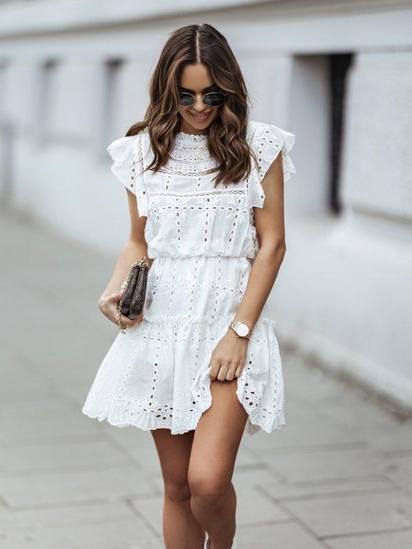 Sukienka Brygide Biała