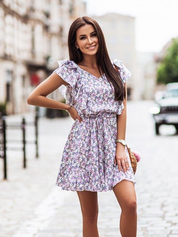 Sukienka Cynthia Fioletowa