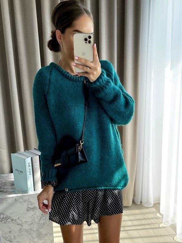 Sweter Dakota Butelkowy